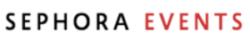 sephora events logo